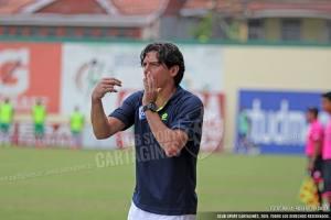 Ciccia indicó que pese a las circunstancias del juego, el resultado ante limón es importante. Foto: Prensa CSC
