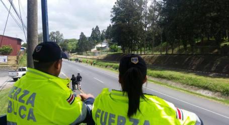 Fuerza Pública reporta 19 detenidos en romería