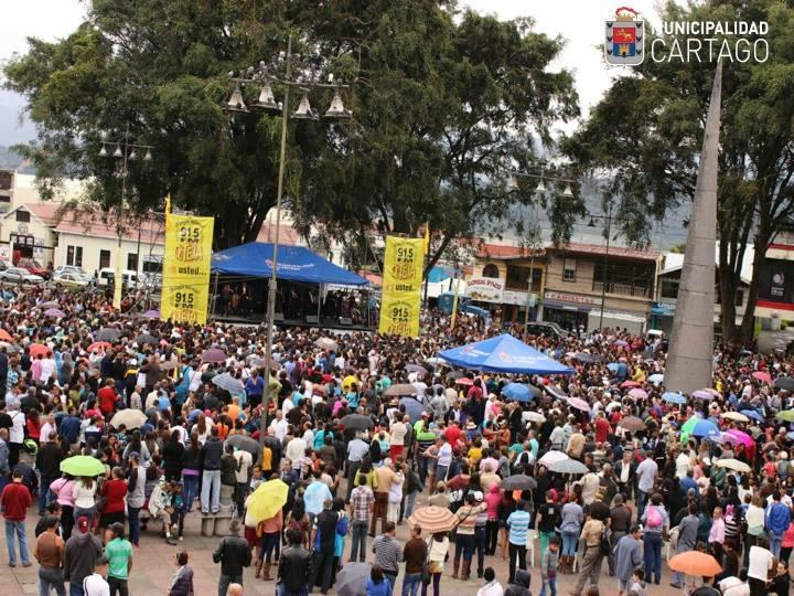 Fotos: Municipalidad de Cartago.