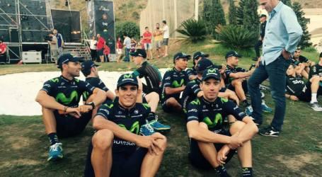 Equipo de Andrey Amador con buena posición en comienzo de Vuelta a España
