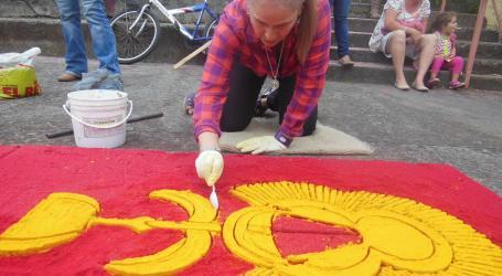 Preparación de materiales para La Pasada, toda una tradición