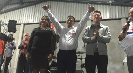 Pablo Barahona presentó su campaña ante pueblo Guarqueño