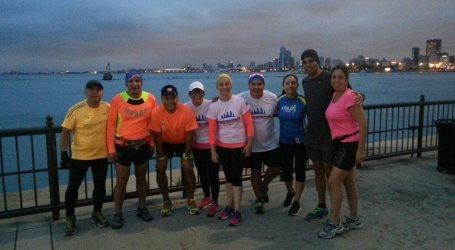 Equipo Monas listo para la Maratón de Chicago