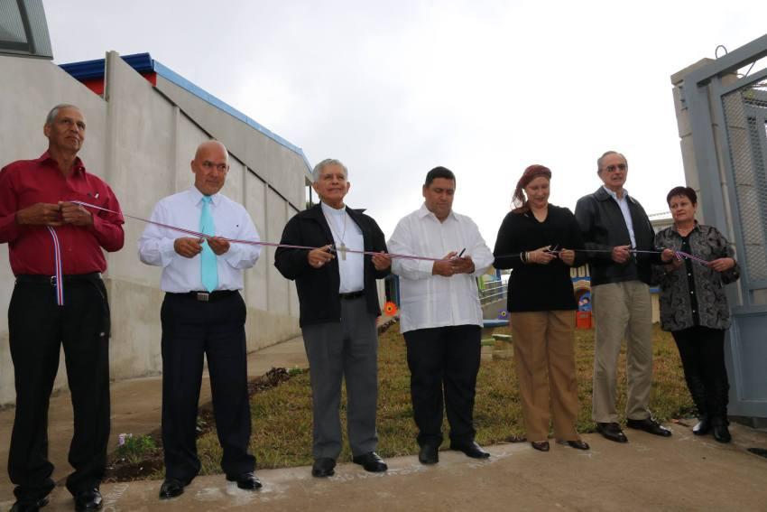 Al acto de inauguración llegaron autoridades locales del cantón central de Cartago. Foto: Municipalidad de Cartago.