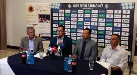 Jeaustin Campos es el nuevo técnico del Cartaginés