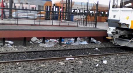 Municipalidad solicita al Incofer limpiar estación del tren