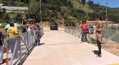 Nuevo puente beneficiará a agricultores de Tablón del Guarco