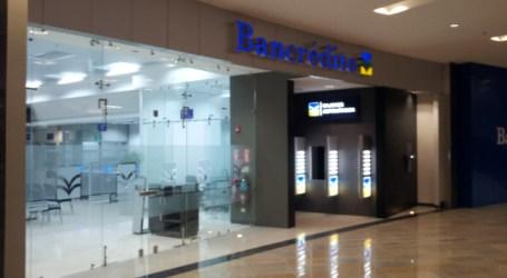 Bancrédito anuncia fecha de cierre de sucursales