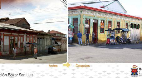 Bazar San Luis se reabrirá este viernes luego de ser restaurado
