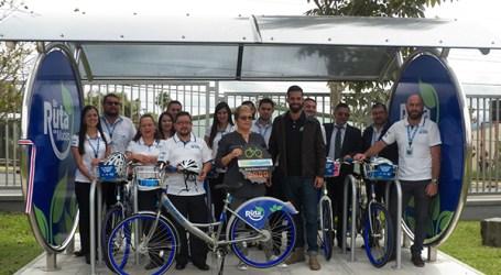 Banco cartaginés incentiva uso de bicicletas entre sus empleados