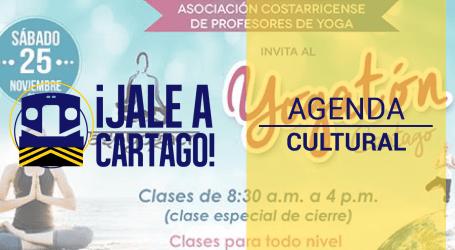Agenda Cultural ¡Jale a Cartago! del 22 al 28 de noviembre