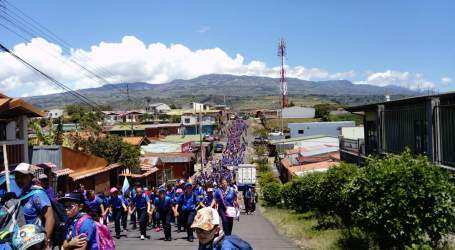 850 Guías y Scouts de Costa Rica celebraron el Día del Pensamiento en Paraíso