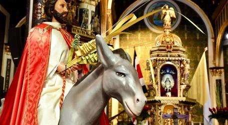 Programa de Semana Santa en la Basílica de Los Ángeles
