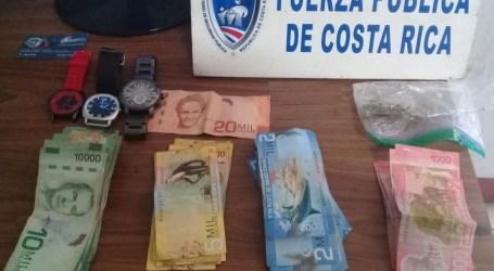 Fuerza Pública aprehende a sujeto por asalto en barbería en Cartago