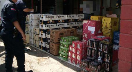 Fuerza Pública intercepta carga de licor de contrabando