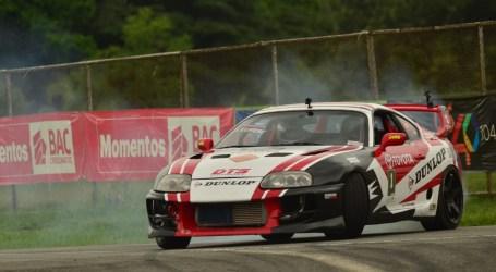 Mario Brenes busca mantener el liderato en el Campeonato Nacional de Drift