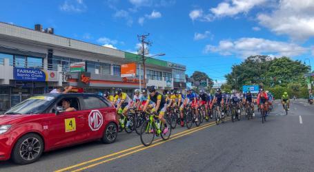 Estas actividades se llevarán a cabo por paso de la Vuelta Ciclística por Cartago