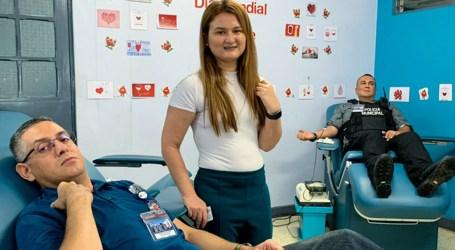Donantes de sangre de Cartago fortalecen Banco de Sangre del país