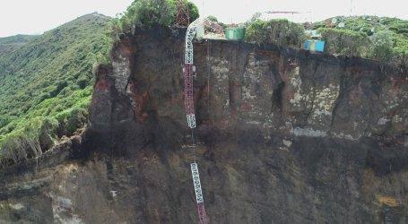(Video) Continúan los deslizamientos en el Volcán Irazú