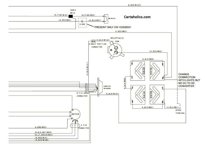 club car precedent wiring diagram  electric  cartaholics