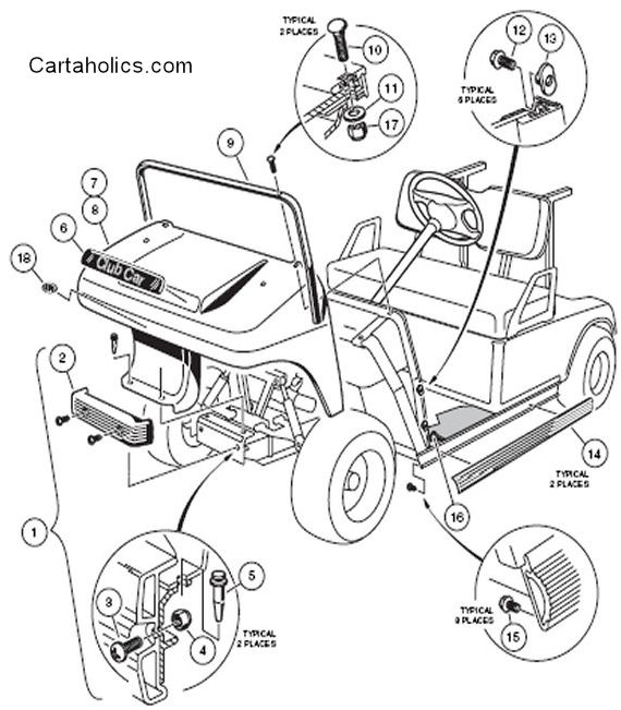 clubcar front cowl?resize=570%2C651 1996 ez go txt wiring diagram wiring diagram,Ez Go Txt 36v Wiring