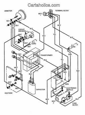 Cartaholics Golf Cart Forum > EZGO  Total Charge 3 Wiring Diagram