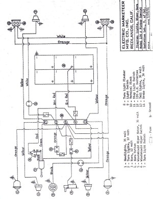 Cartaholics Golf Cart Forum > MELEX 512E Cable Diagram