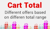 cart total offer opencart extension