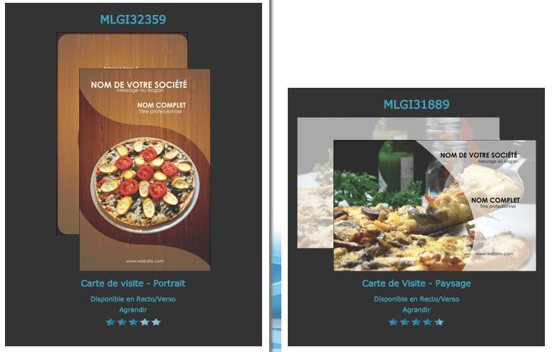 Modle Exemple Aide Graphique Carte De Visite Fast Food Sandwicherie Kebab