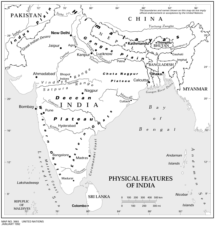 Carte Inde Vierge Carte Vierge De L Inde