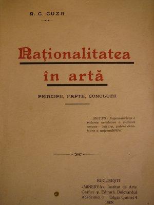 Naţionalitatea în artă 1908