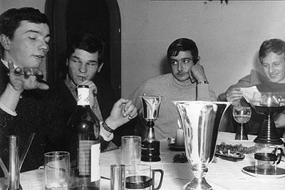 1968 | Ein Klub wird gegründet: Dixer, Koschutnig, Schönlieb