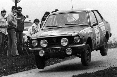 1979 | Karawankenrallye 1979 Figura / Kulterer Toyota Corolla