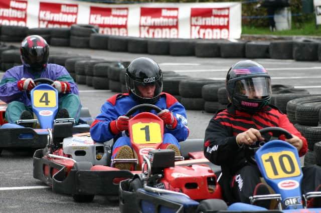 Rad an Rad Kämpfe bei den KRONE-Kart-Veranstaltungen In den Jahren 2003 bis 2008