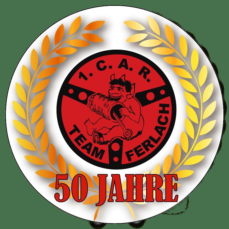 Logo CAR Team Ferlach 50Jahre 912x912 1