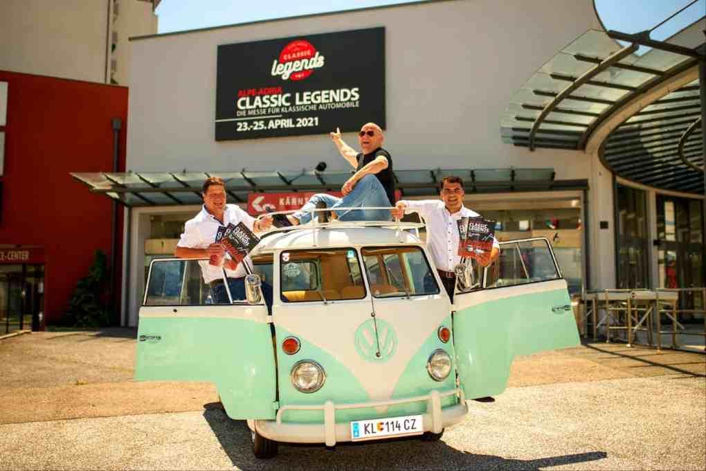 2021 CAR Team Ferlach Oldtimermesse Klagenfurt Classic Legends Johannes Habich 1