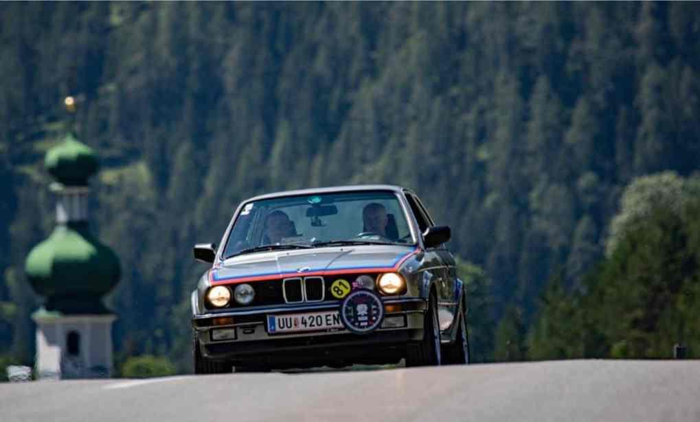 Erstmals bei der FIZZERS-Karawanken-Classic REITMAYR Anton, BMW 325iX, Baujahr 1987