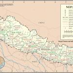 Larger Map Nepal On World Map