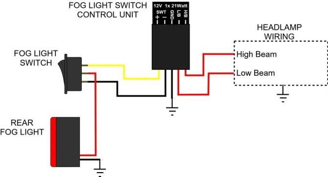 12v rocker switch fog light wiring diagram full hd version