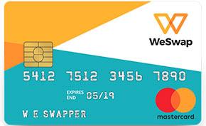 Carta prepagata WeSwap
