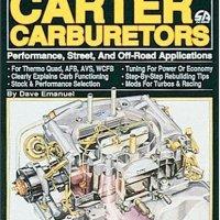Rally Carburetor Type Carter Bbd Hightop Jeep Wagoneer 6 Cil