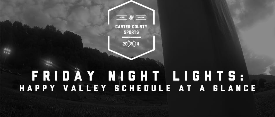 Happy Valley Schedule at a Glance