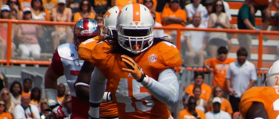 Tennessee football's Johnson on Bednarik Watch List