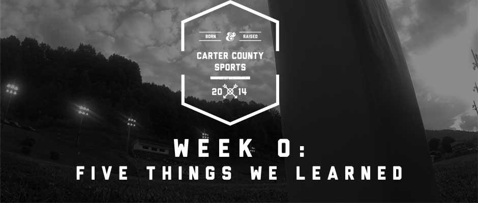 Five things we learned: Week 0