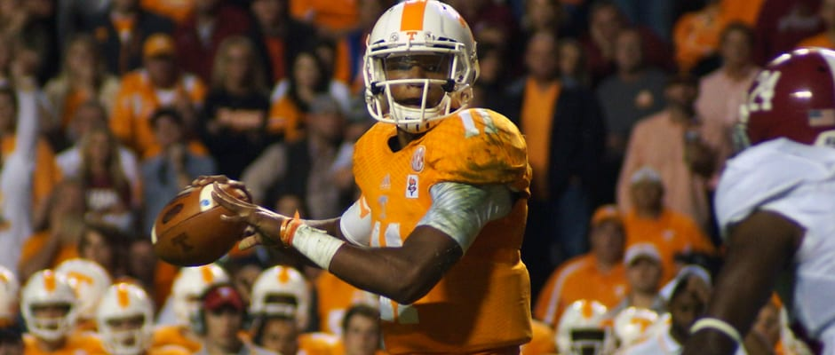 Vols unable to dig out against 'Bama