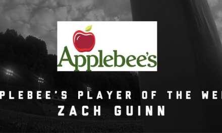 Hampton's Guinn named Player of the Week