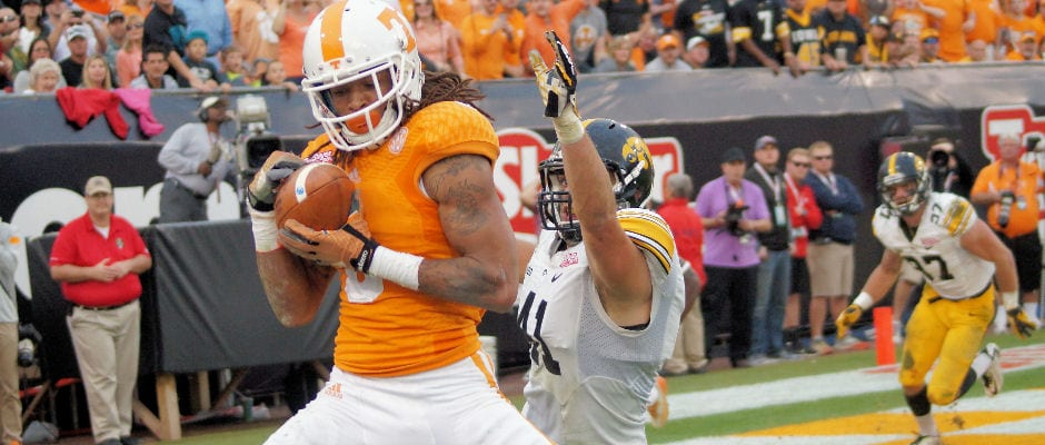 Vols blast Iowa in TaxSlayer Bowl