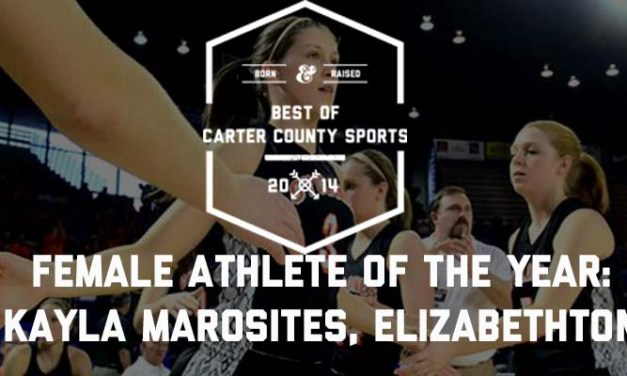 Marosites named Female Athlete of the Year