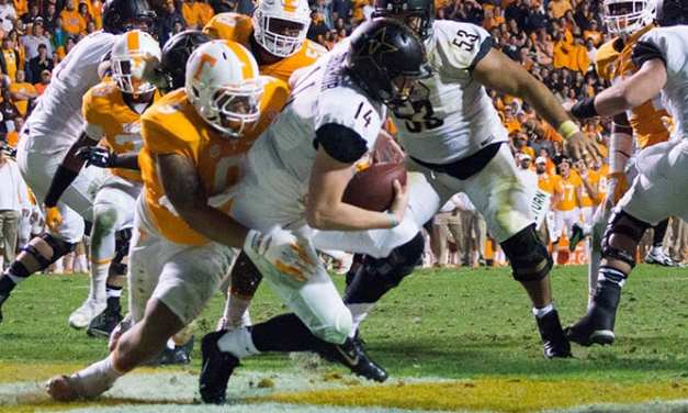 Vols roll past Vanderbilt on Senior Day