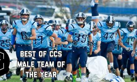 HHS football named male team of the year